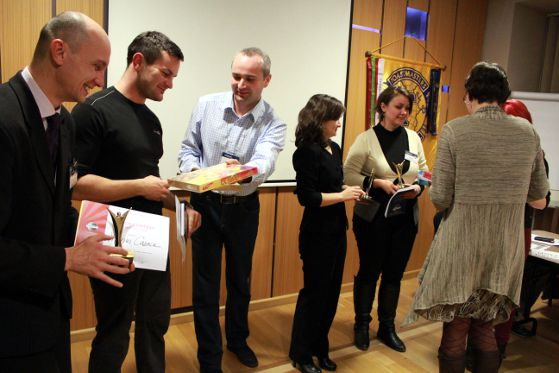 Membrii premianti ai Timisoara Toastmasters
